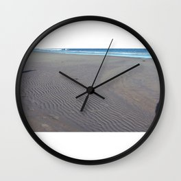 Follow The Lines Into Oblivion  Wall Clock