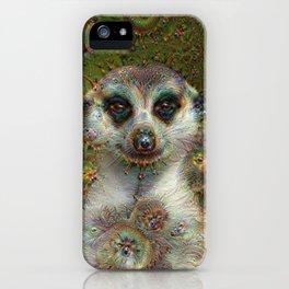 Dream Creatures, Meerkat, DeepDream iPhone Case