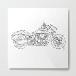 Suzuki VZR 1800 2011 Metal Print