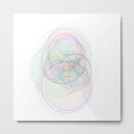 Rainbow Rings 2 Metal Print