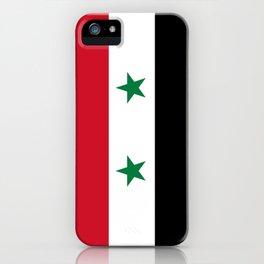 Flag of Syria - Syrian Flag iPhone Case