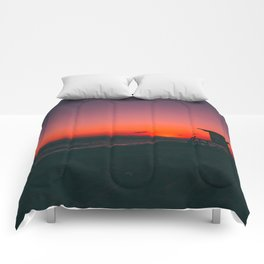 Sunset Beach CA Comforters