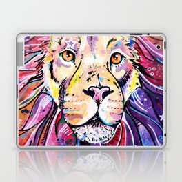 The Chief - Lion painting Laptop & iPad Skin
