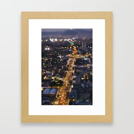 Small Places from the Big Mexico City Series (VIII) Framed Art Print
