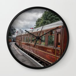 Vintage Carriage Wall Clock