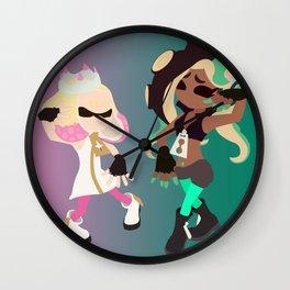 Marina & Pearl Deluxe - Splatoon 2 Wall Clock