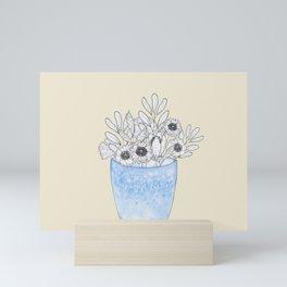 Plants in Pots no.2 Mini Art Print