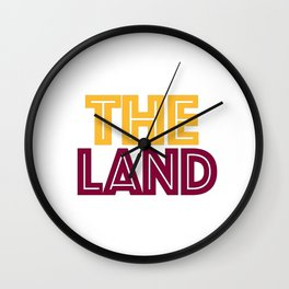 Cavaliers Cleveland Wall Clock
