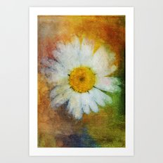 Daisy in Colors ~ Ginkelmier Inspired Art Print
