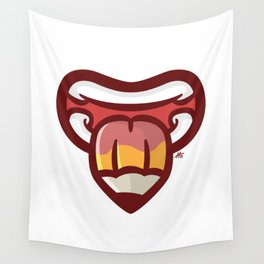 Pencil Mouth Wall Tapestry