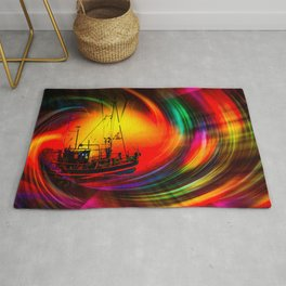 Time- Tunel100 Rug
