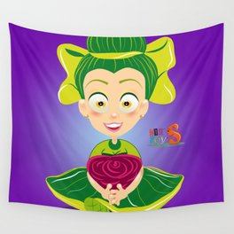 Mariette/Character & Art Toy design for fun Wall Tapestry