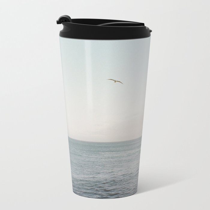 A Break From the Pack in Big Sur Metal Travel Mug