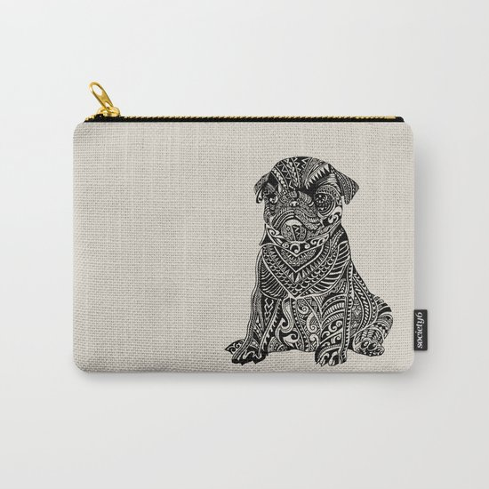 Polynesian Baby Pug Carry-All Pouch