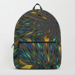 Fractal Abstract 44 Backpack