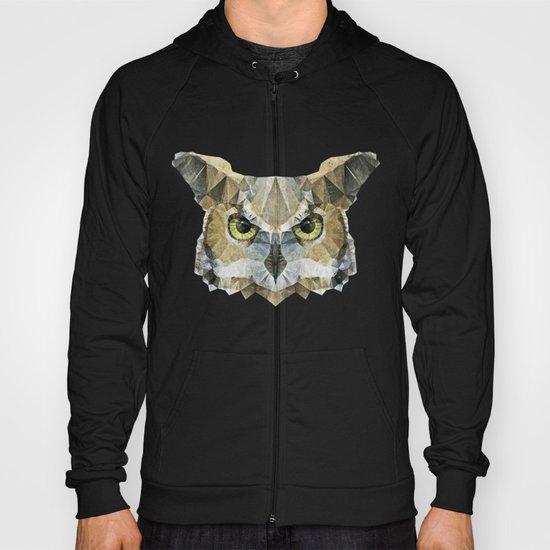abstract owl Hoody