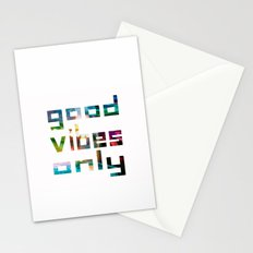 good vibes only // Coachella Stationery Cards