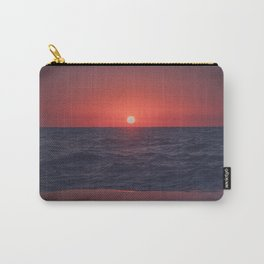 Restless Sunset Carry-All Pouch