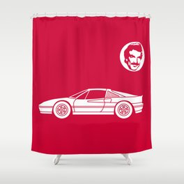Ferrari 328 GTS Shower Curtain