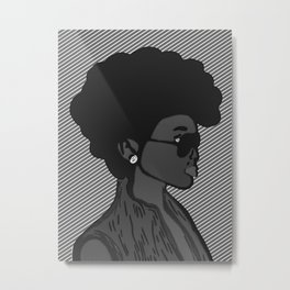 Tracy II Metal Print