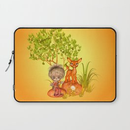 Orange rocks baby Laptop Sleeve