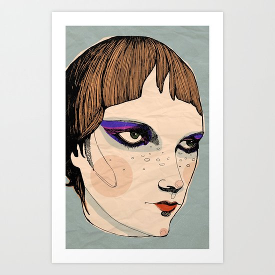 make up Art Print