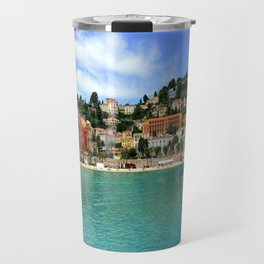 Menton Harbour View Travel Mug