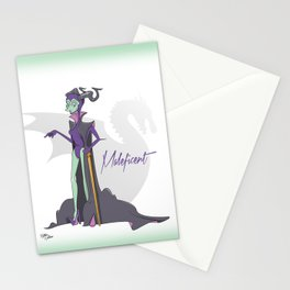 Dis Fashion, Maleficent  Stationery Cards