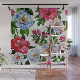Vintage Floral Pattern No. 10 Wall Mural