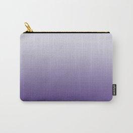 Ombré Ultra Violet Gradient Motif Carry-All Pouch