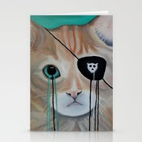 kit king Stationery Cards featuring Kit Furry by Prince Pat