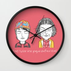 Roads? Where we're going we don't need roads. Wall Clock