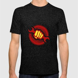 Communist propaganda  -  power to the workers  T-shirt