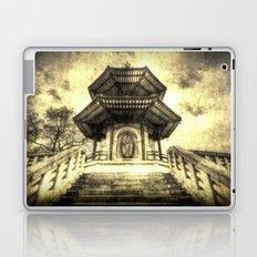 The Pagoda Battersea Park London Vintage Laptop & iPad Skin