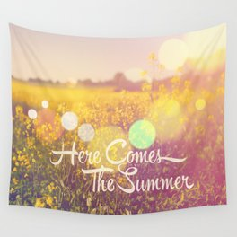 Here Comes The Summer Wall Tapestry