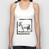 goat Tank Tops featuring Goat by LoRo  Art & Pictures