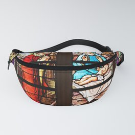 Stained Glass Window Fanny Pack