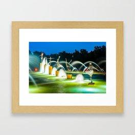 Kansas City Fountain of Playing Children Framed Art Print