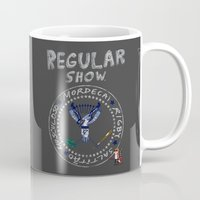 punk rock Mugs featuring The Punk Rock Show by luis pippi