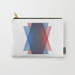 RedBlue Carry-All Pouch