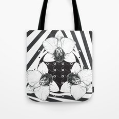 orchid symmetry Tote Bag