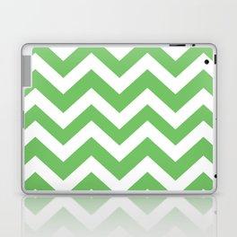 Mantis - green color - Zigzag Chevron Pattern Laptop & iPad Skin