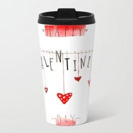 Valentine's card Metal Travel Mug