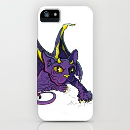 Dragon Cat by LauryARTS iPhone Case