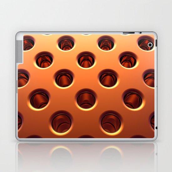 Shiny Holes Laptop & iPad Skin