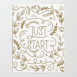 Just Start...A new beginning Poster