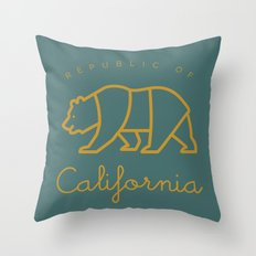 Republic of California Throw Pillow