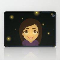 fireflies iPad Cases featuring Fireflies by Sara Showalter