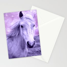 Lavender Horse Celestial Dreams Stationery Cards