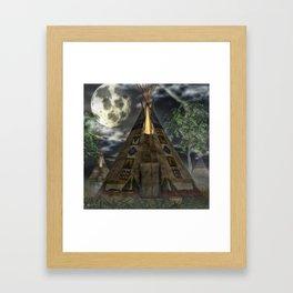 Tipi  Framed Art Print